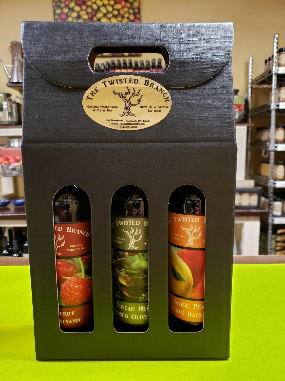 Oil & Vinegar Tote Gift Box - 3 (375ml)