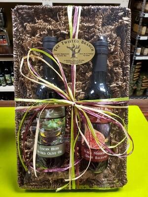Oil & Vinegar Gift Market Tray - 2 (375ml)