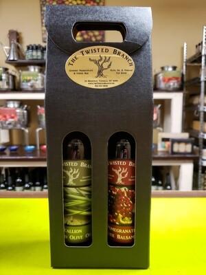 Oil & Vinegar Tote Gift Box - 2 (375ml)