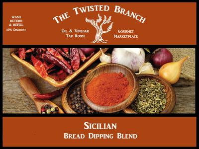 Sicilian Bread Dipping Oil