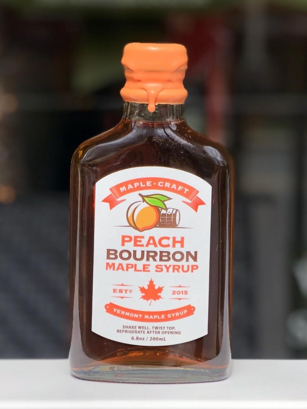 Maple Syrup - Peach Bourbon