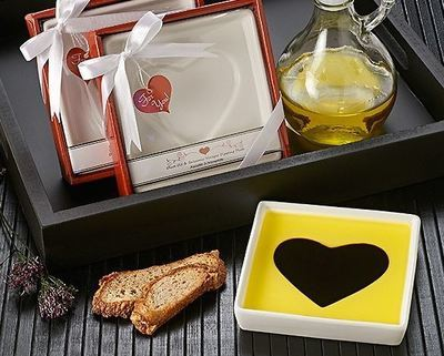 """""""Love Infused"""" Dipping Plate"""