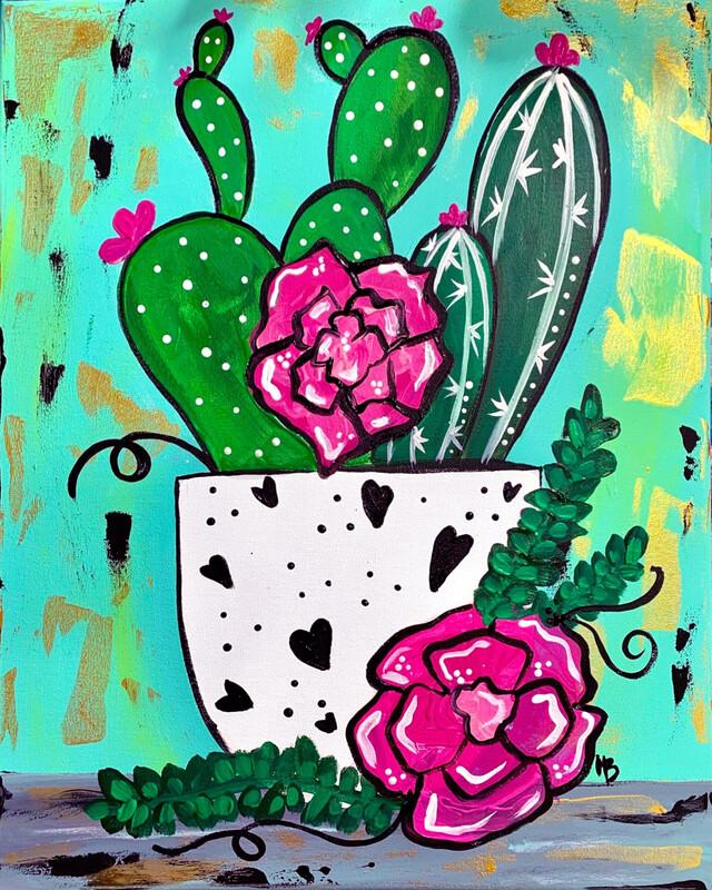 Valentine paint kits