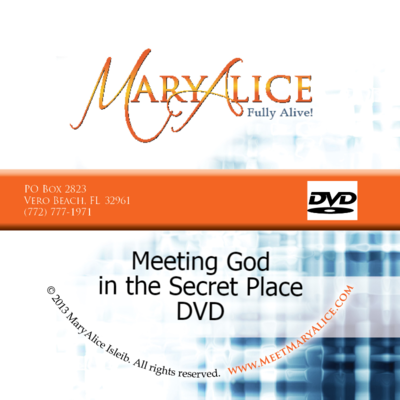 Meeting God in the Secret Place DVD
