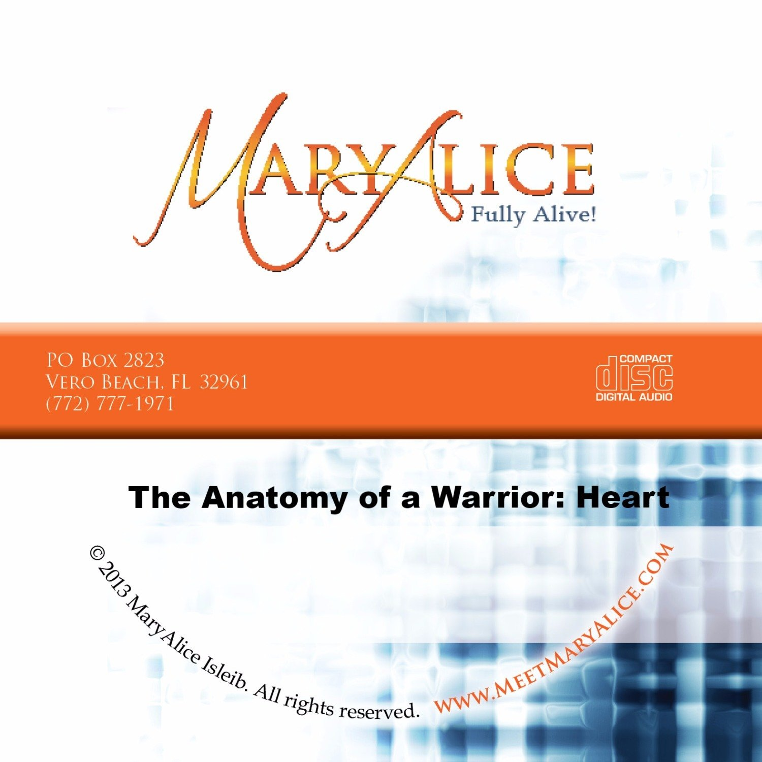 NEW PRICE The Anatomy of a Warrior: Heart - CD