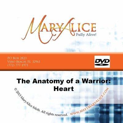 Anatomy of a Warrior: Heart - DVD