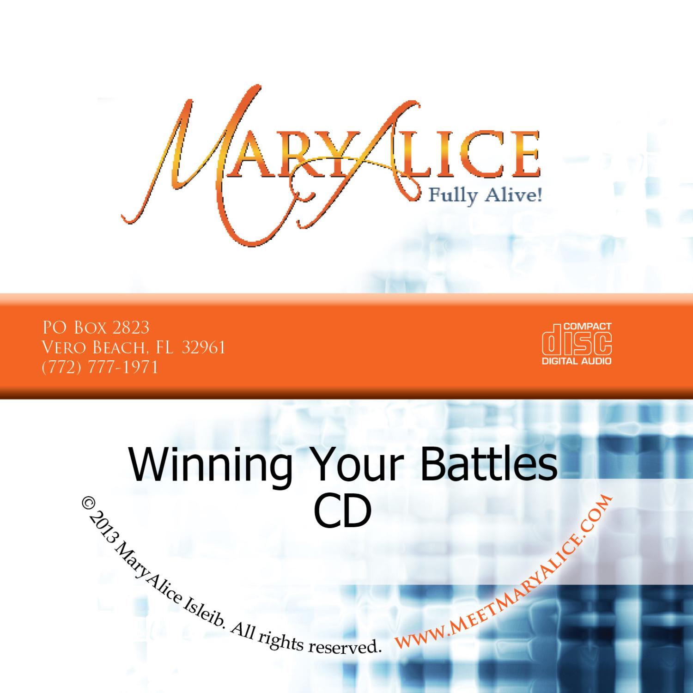 NEW PRICE Winning Your Battles CD