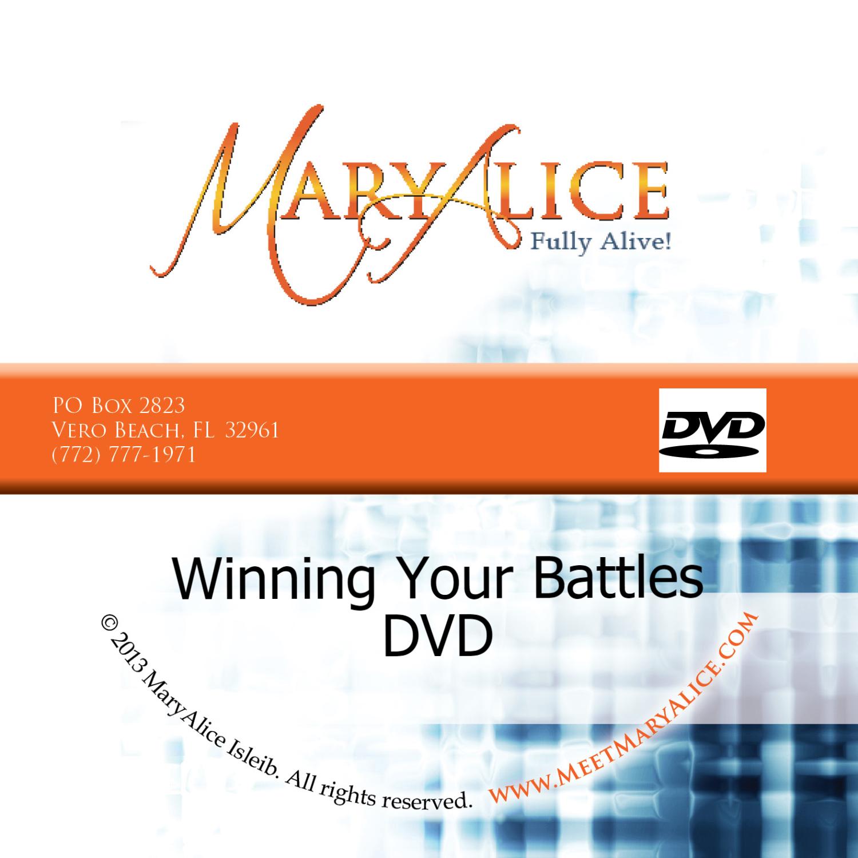 Winning Your Battles DVD