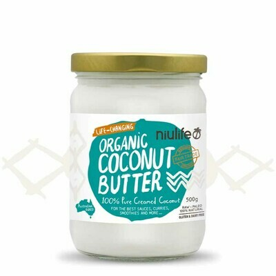 COCONUT BUTTER 500G ORGANIC