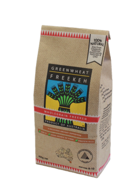 WHOLEGRAIN FREEKEH 400G