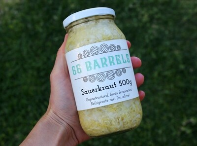 Traditional Sauerkraut 66 Barrels