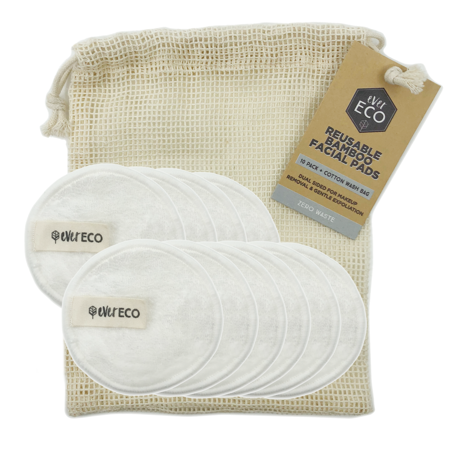 Reusable Facial Pads EverEco