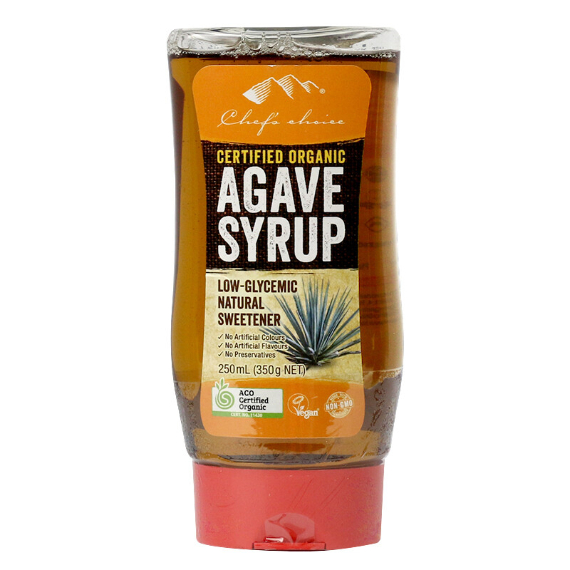 AGAVE SYRUP 330G GOLD