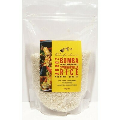 BOMBA RICE (for Paella) 500G