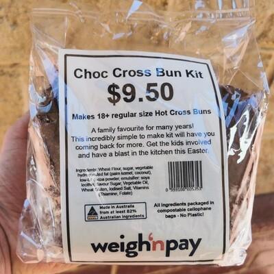 Choc Cross Bun Kit
