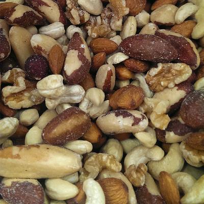 MIXED NUTS RAW (NO PEANUTS)