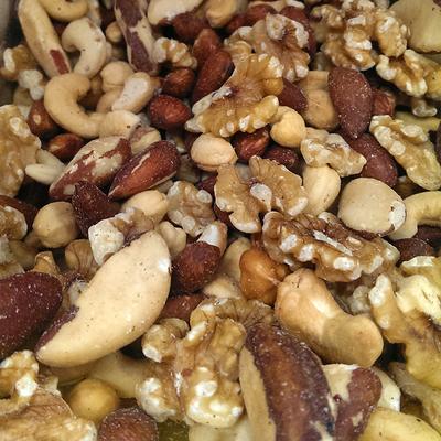 MIXED NUTS ROASTED NO PEANUTS