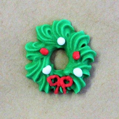 Sugar Christmas Wreath