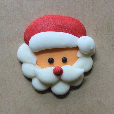 Sugar Santa Head