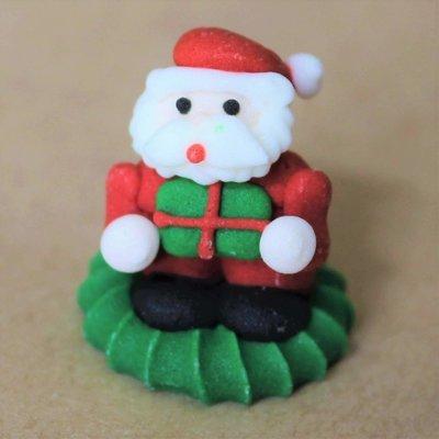 Sugar 3D Santa with Present