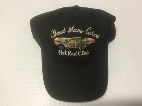 Dead Mans Curve Base Ball Cap