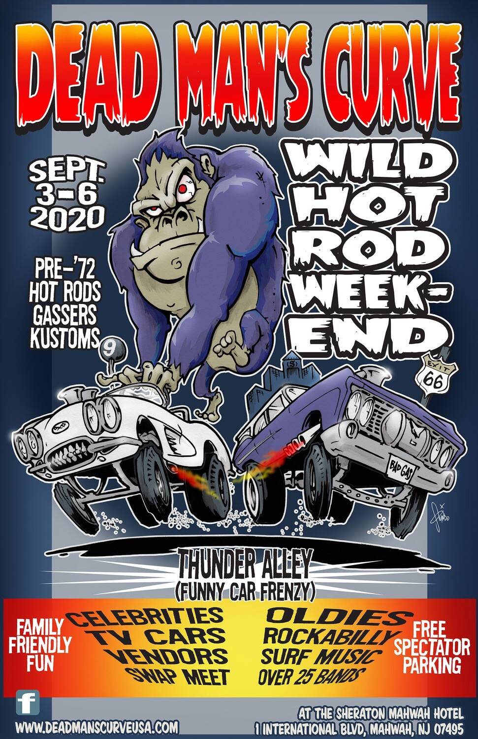 DMC Wild Weekend 9 Poster