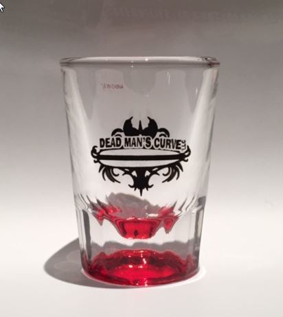 DMC Shot Glass (RED)