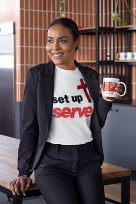 SetUp to Serve T-shirt