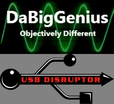 USB Disruptor Type B and DaBigGenius Combo