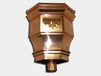 The Churchill Inside Corner Conductor Head | Leader Head | Copper Zinc