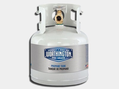 1 Gallon Propane Tank 4.25 lbs / 5 lbs