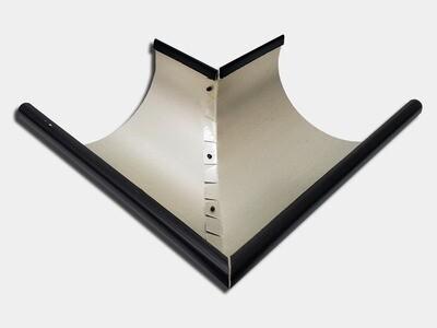 Kynar Steel Half Round Gutter Outside Miter