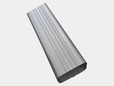 Square Corrugated Galvalume Downspout