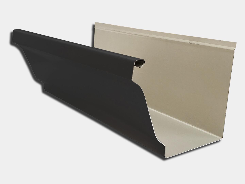 24 Gauge Kynar Steel K-Style Gutter