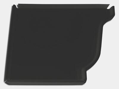 K-Style Gutter Steel Left / Right End Cap