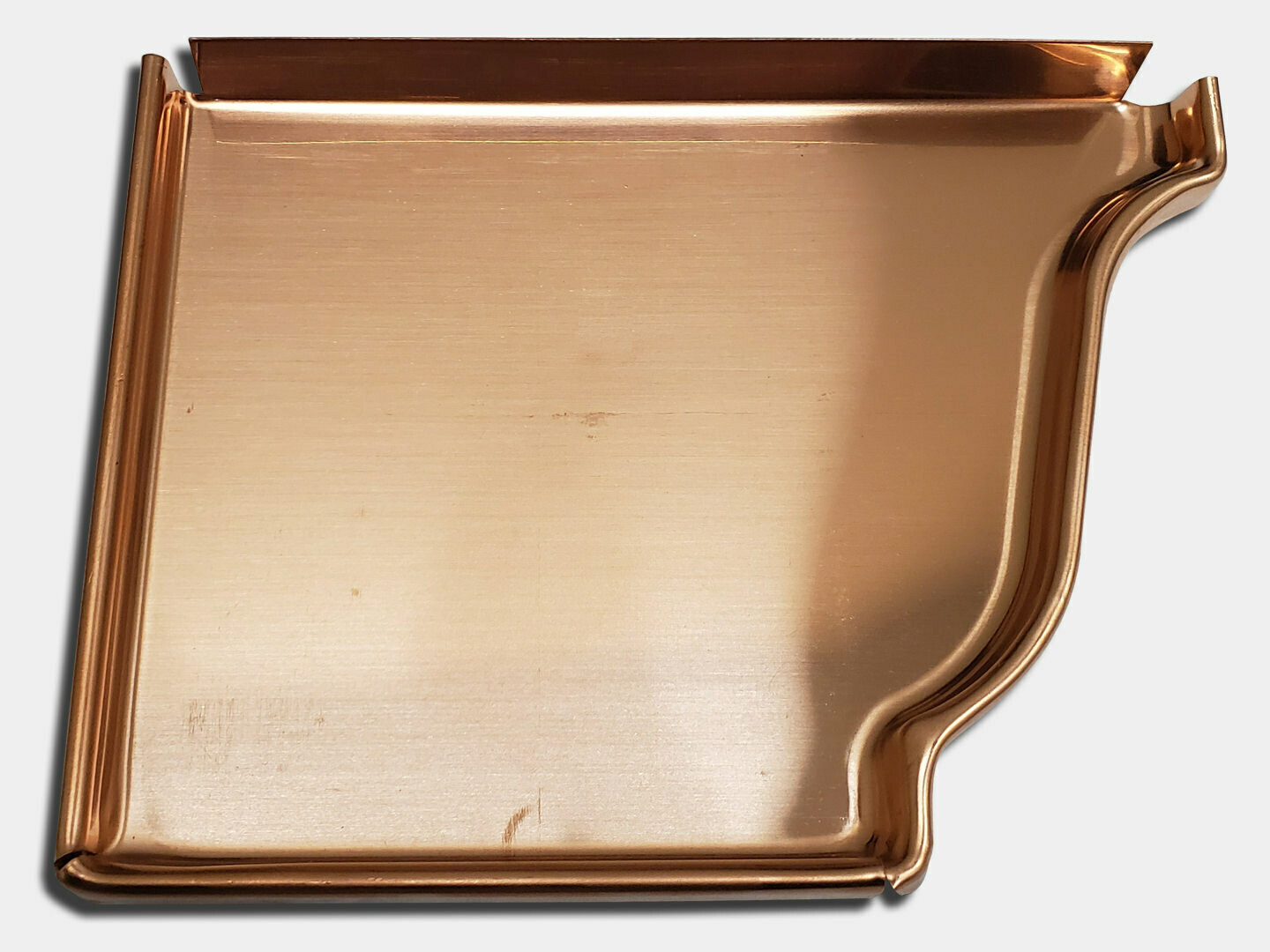 K-Style Copper Gutter Left / Right End Cap