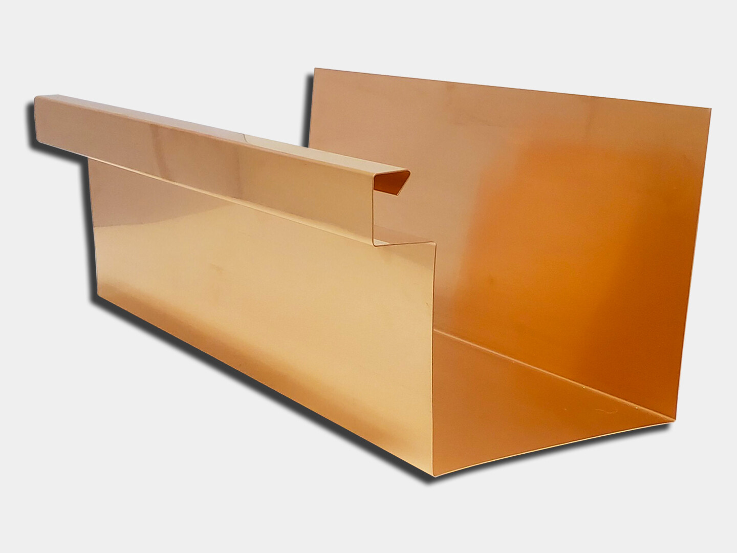 Copper Commercial Box Gutter