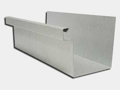 24 Gauge Galvalume Commercial Box Gutter
