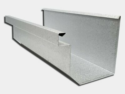 24 Gauge Galvalume Residential Box Gutter