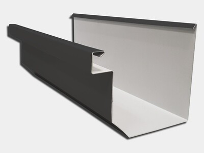 24 Gauge Kynar Steel Residential Box Gutter