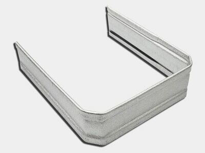 Corrugated Square Galvalume Downspout Strap
