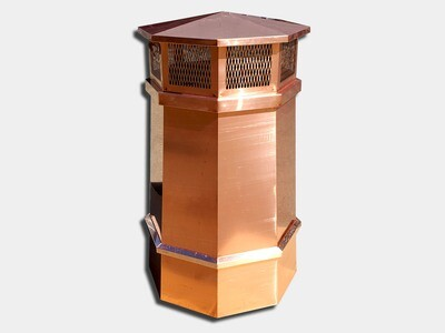 Octagonal Chimney Pot
