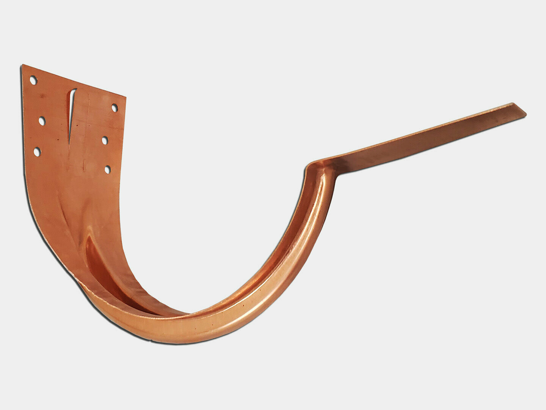 Stamped Half Round Gutter Copper Hanger