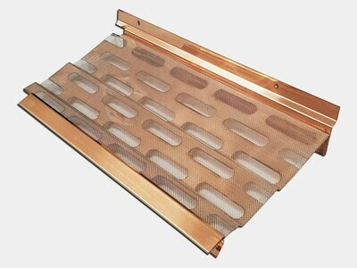 K&M Copper Gutter Screen