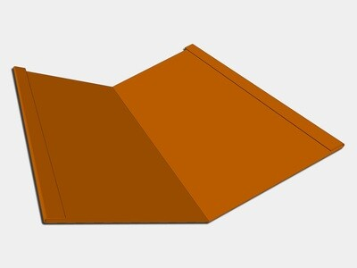 Copper Standard Roof Valley Flashing
