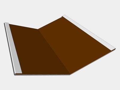 24 Gauge Kynar Steel Standard Roof Valley Flashing