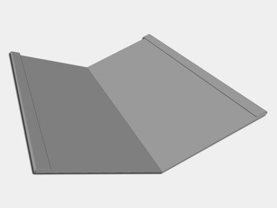 Galvalume Standard Roof Valley Flashing