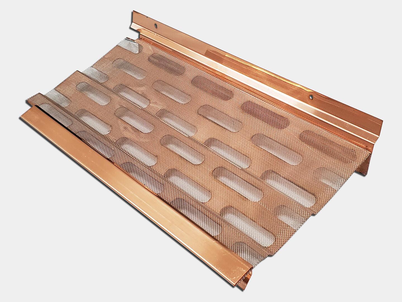 K&M Copper Gutter Screen