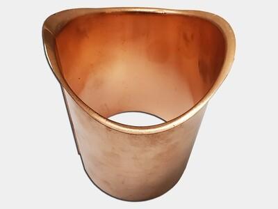 Half Round Gutter Copper B Style Gutter Outlet