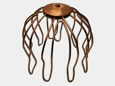 Copper Heavy Duty Downspout Wire Strainer